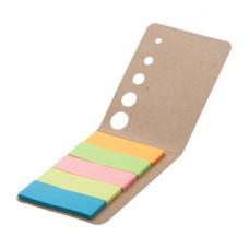 100 de notite cu adeziv in 5 culori diferite.