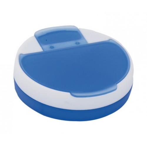 cutie pentru medicamente Astrid Cutie rotunda din plastic cu 4 compartimente