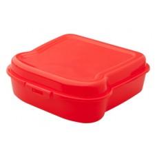 Caserola pentru mancare in forma de sandwich, din plastic, 450 ml.