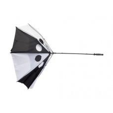 Umbrele de golf alb-negru antivant