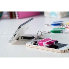 Breloc cu suport telefon mobil din plastic