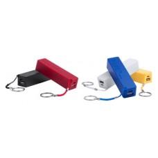 Baterie externa cu carcasa din plastic cu cablu USB, 1200 mAh.
