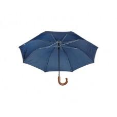 Umbrela pliabila automata cu maner din lemn