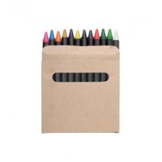 Creioane cerate in ambalaj negru din carton.