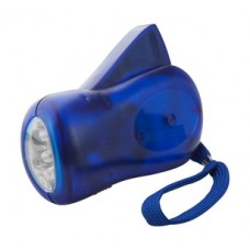 Lanterna dinamica cu LED, reincarcabila, include 3 baterii.